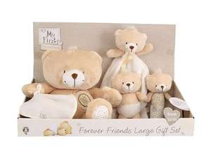 Forever Friends Large Baby Gift Set was £35 now £20 C+C @ Tesco Direct