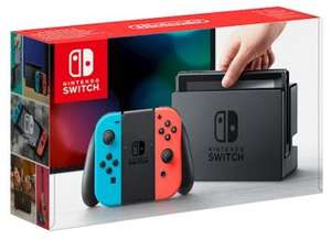 Pre-owned Nintendo Switch Console (Grey/Neon) - £199.99 - Grainger Games