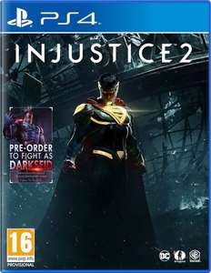 Injustice 2 (PS4) £14.99 Delivered (Preowned) @ Grainger Games