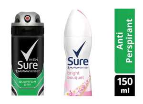 Sure Anti-Perspirant Deodorants 150ml varieties now only 98p @ Superdrug (Free C&C)