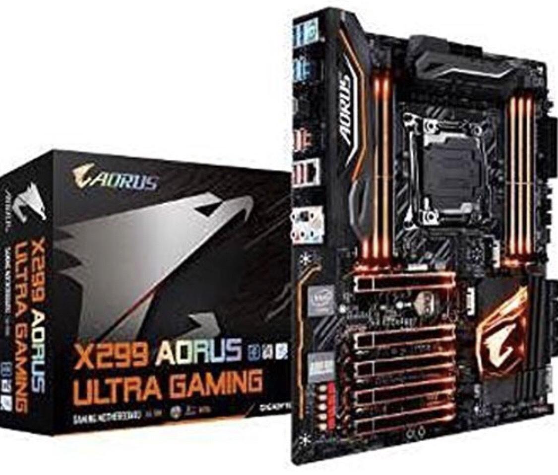 Gigabyte Intel X299 AORUS Ultra Gaming Chipset LGA 2066 DDR4 SDRAM Motherboard - Black £172.96 @ Amazon