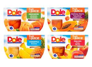 Dolce Fruits in Juice / Jelly 4 x113g pack varieties for £1 @ Morrisons