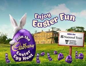 Cadbury Easter Egg Hunt At National Trust / National Trust For Scotland + Free Downloadable Easter Book and Puzzles
