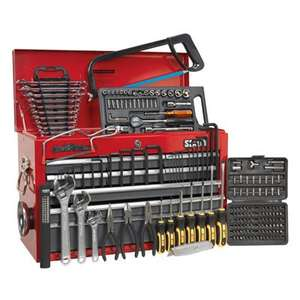 Sealey 9 drawer top chest & 204pc tool kit. Was £275.94 now £155.94 +  £7.99 del @ Demon Tweeks