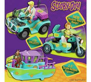 Scooby Doo vehicle and monster figure £3.99 - choice of 3 @ Argos