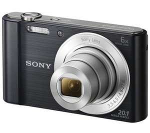 SONY Cyber-shot DSCW810B Compact Camera - Black £69.99 (currys)