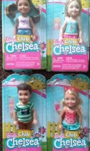 Barbie Club Chelsea Asda Corby £2.97