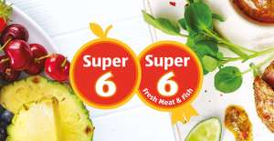Aldi Super 6 – 69p –  from Thursday 15th March discount offer