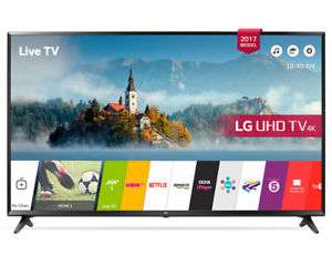 "LG 43"" UHD Smart TV with optical ouput - £349 at Crampton and Moore / Ebay"