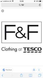 Tesco F&F £5 off £25 spend instore - inside Tesco magazine