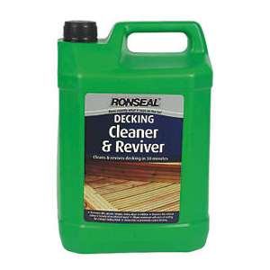 Ronseal DC Decking Cleaner 5 Litre @ Screwfix C&C = £6.59