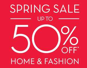 Update 21/3 Now Upto 50% Off Sale + Extra 10% Off for newsletter signup + Free C+C @ Laura Ashley (Free Delivery on Furniture)