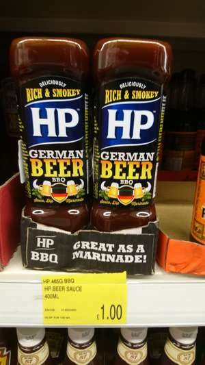 HP German beer BBQ sauce £1 @ b&m