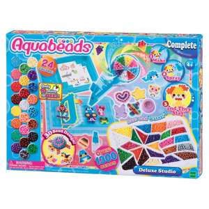 Aquabeads deluxe studio reduced to clear £7.50 Tesco highwoods