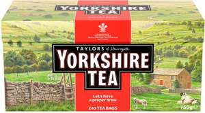 Yorkshire Tea Bags 240's 750g - £4 @ Morrisons