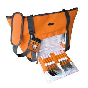 Cool Bag Picnic Hamper for 4 People was £29.99 now £9.99 Del @ Ideal World (Free Delivery Promo)
