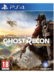 Ghost recon wildlands ps4 (Ex Rental) - £13.99 @ Boomerang
