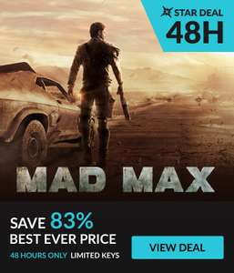 [Steam] Mad Max - £2.79 - Fanatical