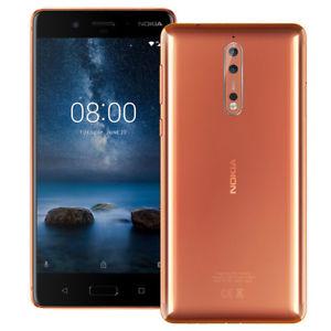 Nokia 8 4GB Ram 64GB Dual Sim SIM FREE in copper - £260 @ eGlobalCentral eBay