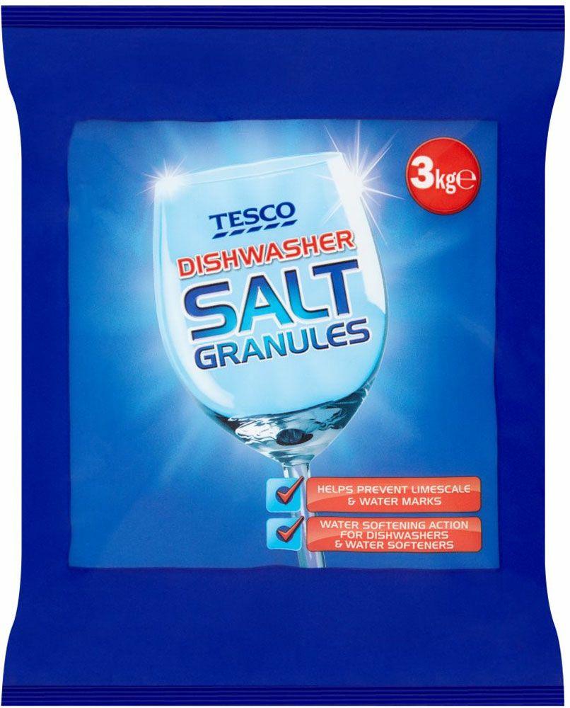 Tesco Dishwasher Salt Granules (3kg) - £1 @ Tesco