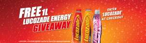 FREE 1L Lucozade with online orders @ Sainsbury's (Minimum Spend £40)