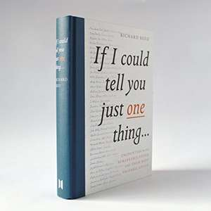 If I Could Tell You Just One Thing- Hardback edition - £4.24 (Prime) £7.23 (Non Prime) - Amazon