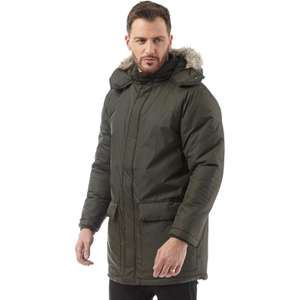 French Connection Mens Parka (Dark Green) £36.99 (£4.49 Delivery) @ MandM Direct