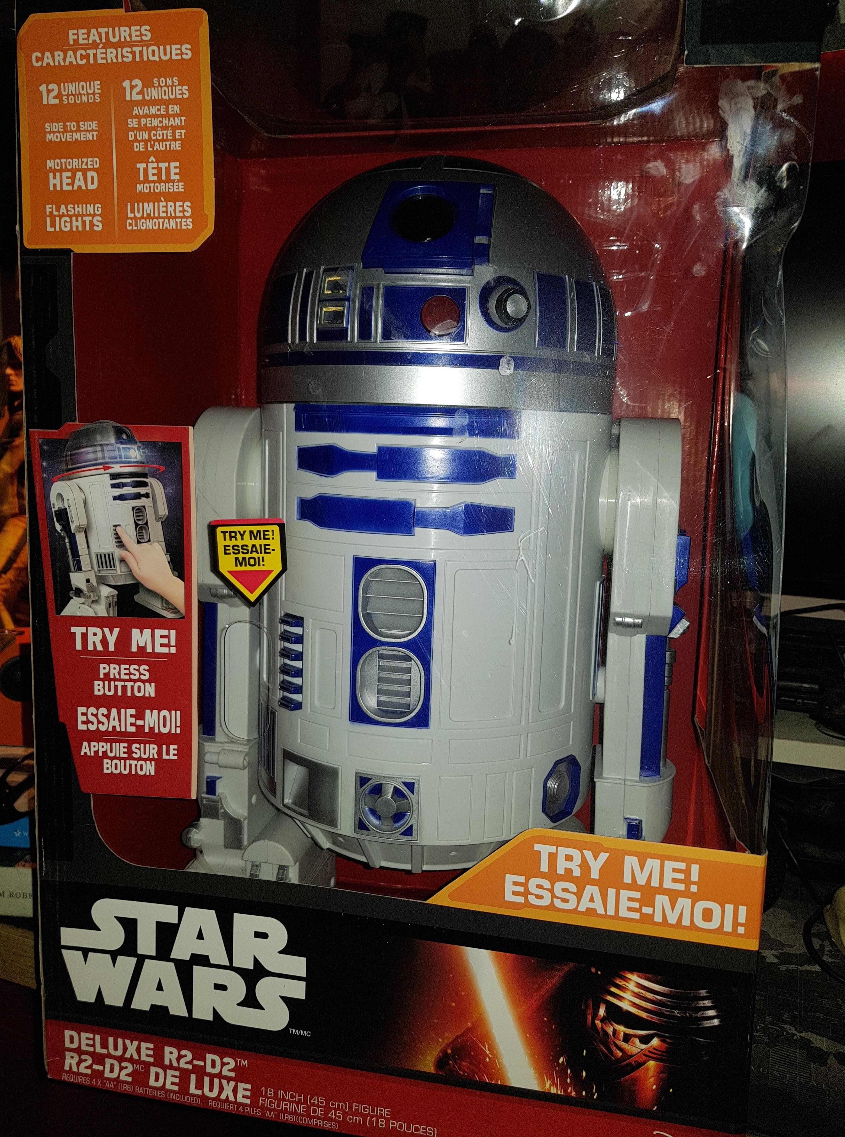 """18"""" Electronic Jakks R2-D2 , £14.99 @ B&M Bargains"""