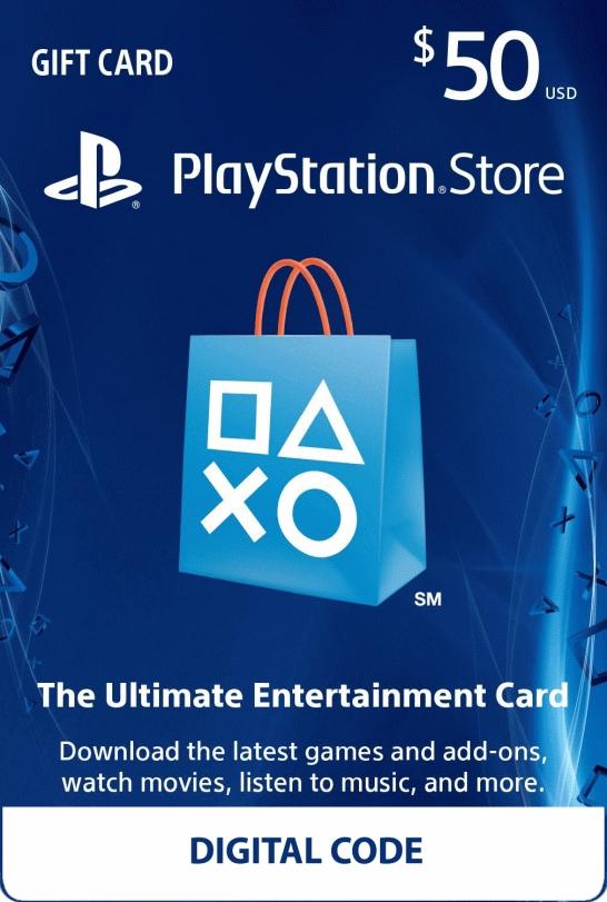 $50 Playstation Network Card (Digital Code) - £32.22 @ PCGameSupply