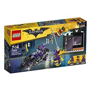 LEGO Amazon price drops incl. Catwoman Chase for £9.07 @ Amazon (Prime) (Non Prime add £3.99-£4.75 P&P)