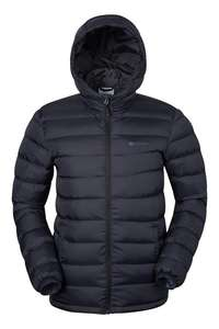 Seasons Mens Padded Jacket plus 15% off with code CAMC18 taking the price down to £33.99 with free click and  collect @ Mountain warehouse