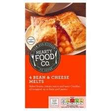4 Hearty Food Co. Bean and Cheese Melts @ Tesco - £1