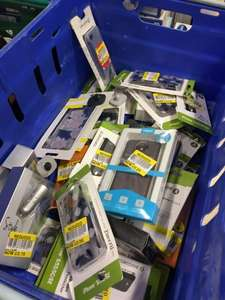 Phone cases and car adapters reduced in Tesco Swansea from 25p