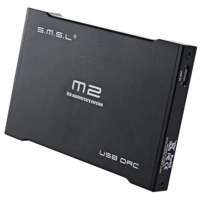 SMSL M2 PRO Headphone Amplifier External Sound Card Built-in AMP DAC - £32.37 @ GearBest