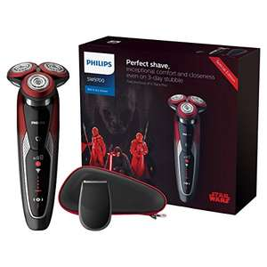 Philips 9211 Star Wars Special Edition Dark Side Wet & Dry Men's electric Shaver Gift Pack £109 @ Amazon.es delivered