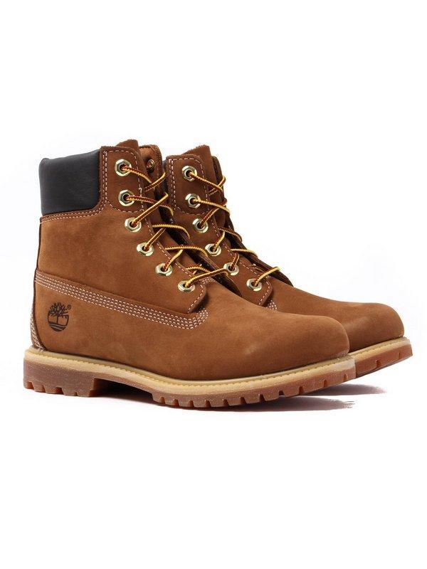 Timberland Womens 6 Inch Premium - Rust Nubuck £42.49 at Cloggs