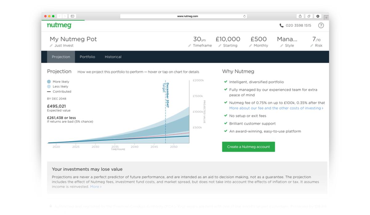 Nutmeg Stock and Shares ISA £200 cashback