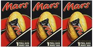 Mars Medium Chocolate Easter Egg, 141 g, Pack of 3 - £3 (Prime) / £7.75 (non Prime) at Amazon
