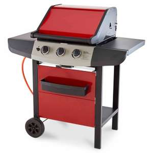 Berkley 3 Burner Gas BBQ reduce to £50. In store at B&Q East Kilbride (Possibly Nationwide)