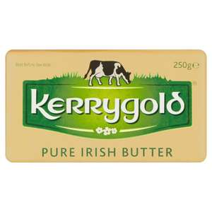 Kerrygold 250g in Iceland £1.25 but 25p after topcashback discount offer