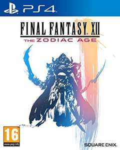 Final Fantasy XII Zodiac Age PS4 £12 at Tesco