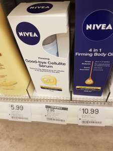 Nivea cellulite serum - £2.95 instore at boots humberstone gate Leicester