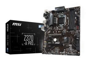 MSI Z370-A PRO LGA 1151 DDR4 ATX Motherboard £89.98 at Ebuyer