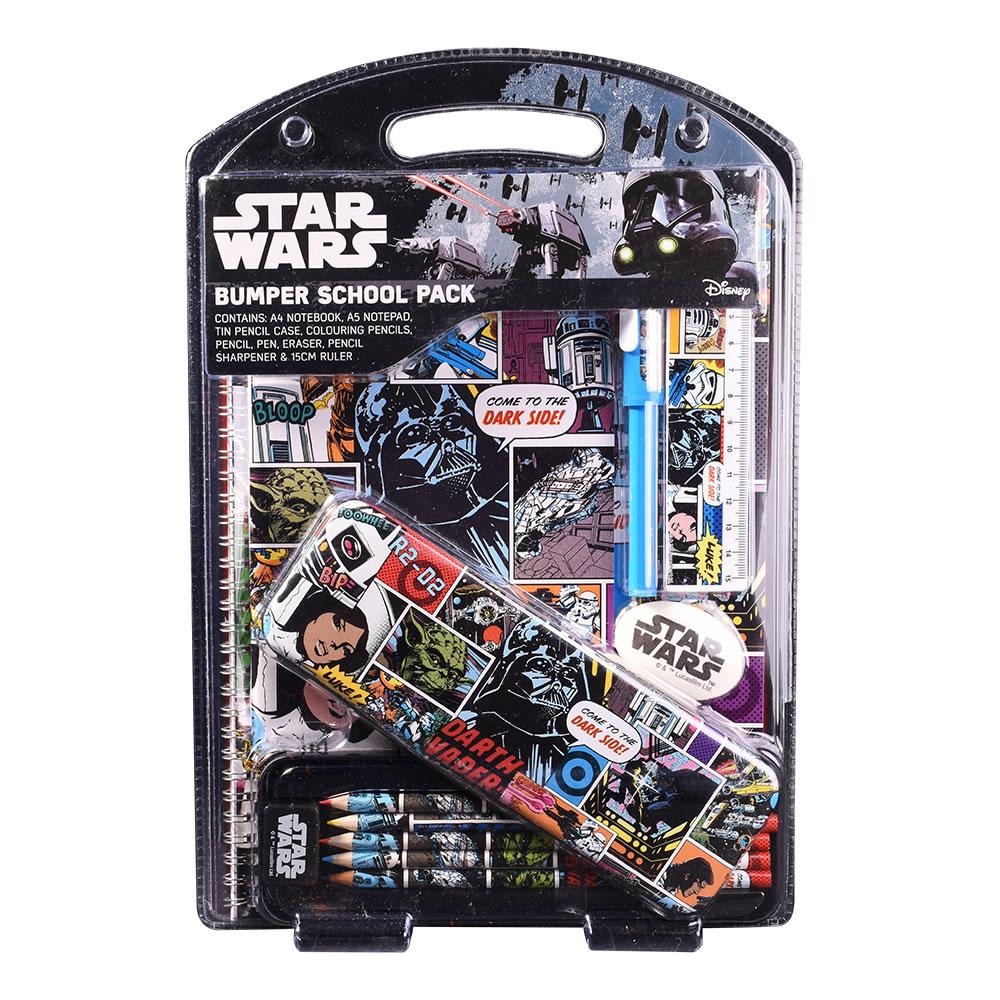 Star Wars Retro Bumper School Pack for 75p @ Wilko