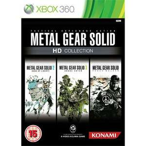 MGS HD Collection  £8 (Instore) £9.50 (Delivered) @ cex (peace walker Backwards compatible)