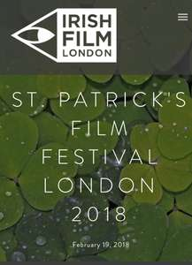 Celebrate St. Patrick's day with free cinema tickets @ Irishfilmfestivallondon.com