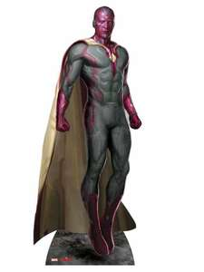 The Avengers: Age of Ultron Vision 189cm Tall Cardboard Cut-Out £6.99 Del @ Argos eBay
