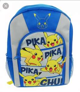 Pikachu Backpack Sainsbury's instore - £5