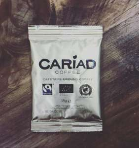 Free Cariad Coffee Samples