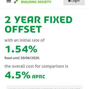 Yorkshire building society mortgage - 2 year fixed
